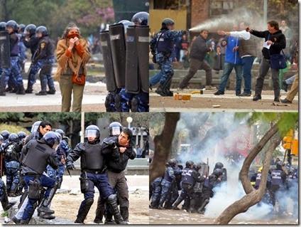 Represión Córdoba