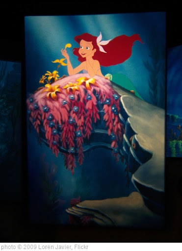 'Little Mermaid projections at Disney Animation' photo (c) 2009, Loren Javier - license: http://creativecommons.org/licenses/by-nd/2.0/