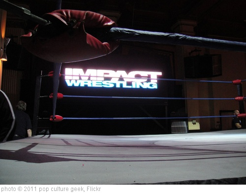 'San Diego Comic-Con 2011 - Impact Wrestling ring' photo (c) 2011, pop culture geek - license: http://creativecommons.org/licenses/by/2.0/
