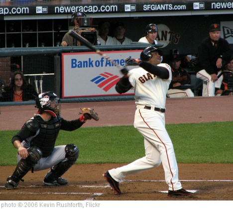 'Barry Bonds' photo (c) 2006, Kevin Rushforth - license: http://creativecommons.org/licenses/by-sa/2.0/