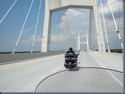 Crossing the Mississippi from Arkansas into Greenville, MS
