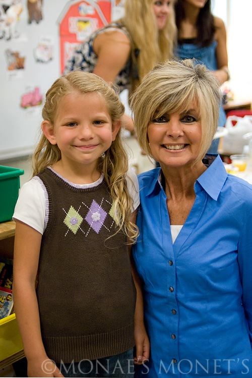 Erika with kindergarten teacher blog