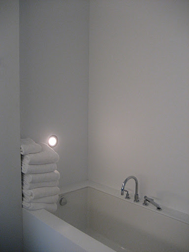 An accent light in my bathtub.  Do you hear a fog horn in the distance?