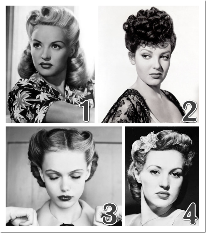 1940's hairstyle inspiration