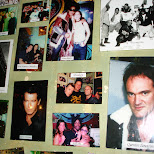 celebrities at a coffee shop in downtown amsterdam in Amsterdam, Noord Holland, Netherlands