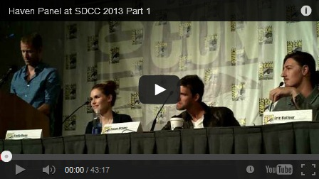 haven comic con panel, sdcc 2013
