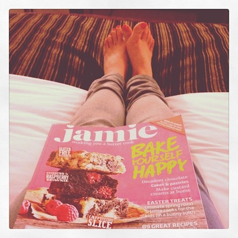 #68 - Jamie Magazine in my hotel room