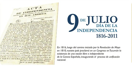 9 de Julio - Dia de la Independencia -