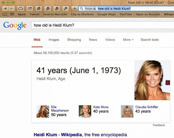 How old is Heidi Klum