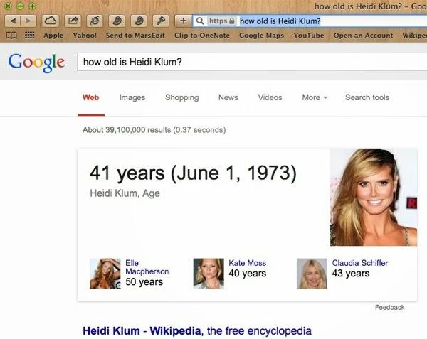 How old is Heidi Klum
