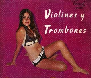 Pipo Y Sus Estrellas  Violines Y Trombones  LP Front
