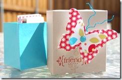 Bright Blossoms Friend Box Open