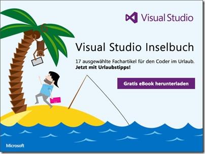 Sommerlektüre für Entwickler: Das Visual Studio Inselbuch