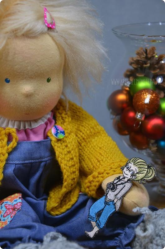 Ida (3) im neuen Outfit von JuniKate für Auslosung AufnäherExpress