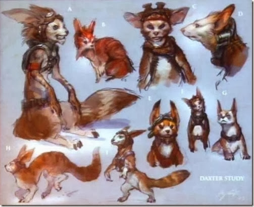 Jak and Daxter Concept