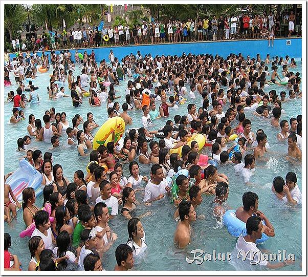 flood of people