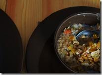 banana-prune-almond oats ;)