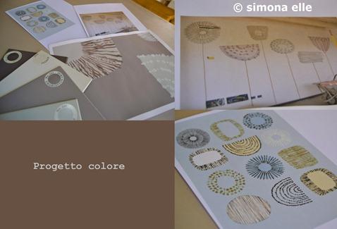 collage progetto colore
