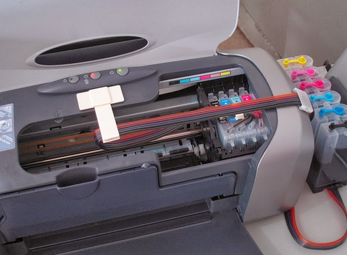 Refilling ink at home in your canon printer