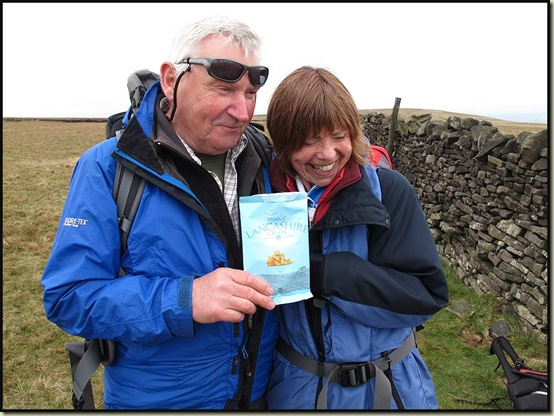 A ticklish time with Lancashire Crisps