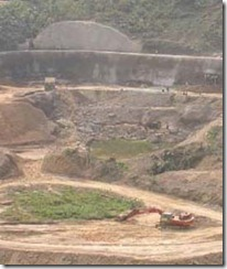 Tuirial Hydro Project Excavation