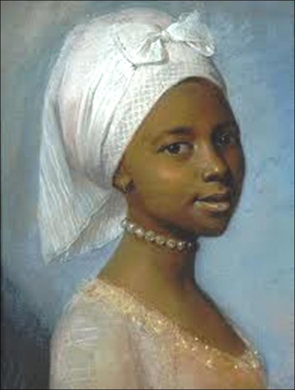 Femme noire au turban