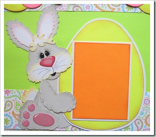 bunny svg easter photo mat