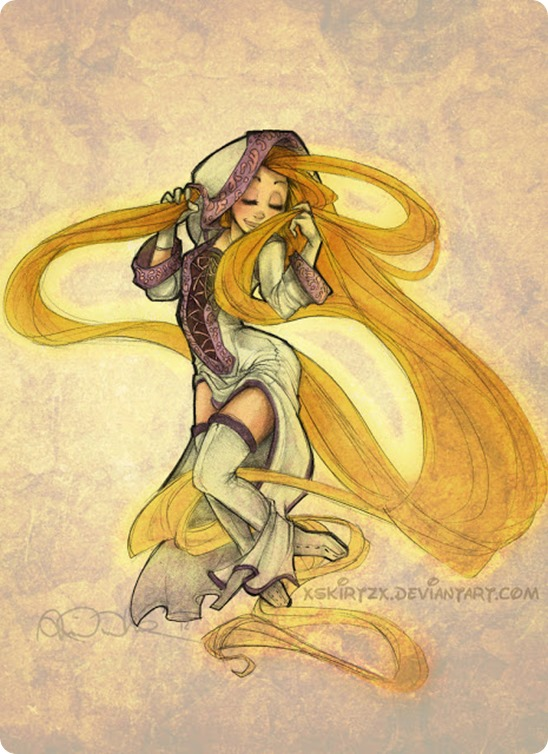 White-Mage-Rapunzel