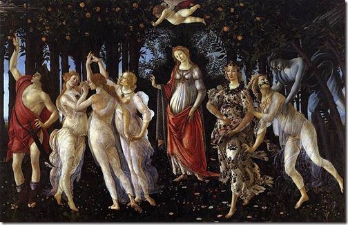 Primavera - Sandro Botticelli (1482)