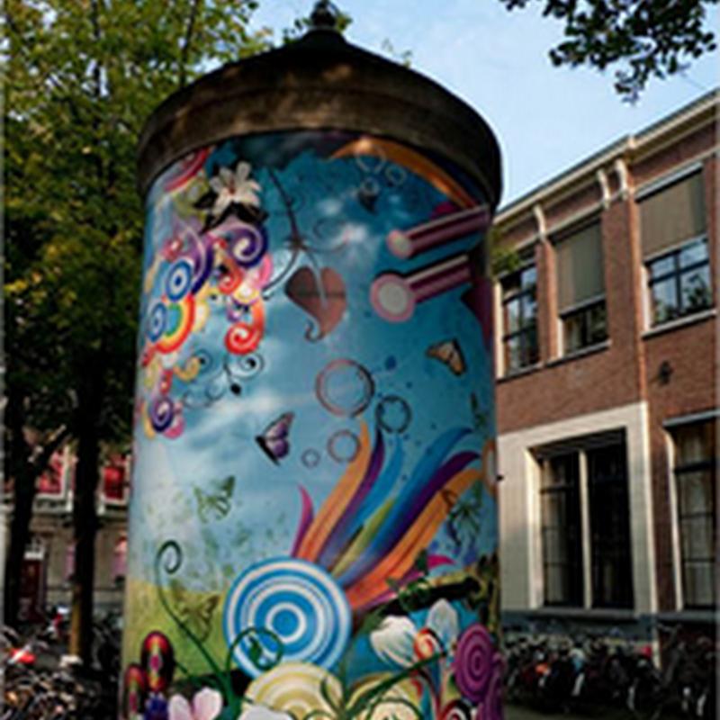 El exquisito arte de los posters en Amsterdam