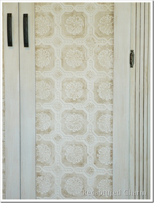 wallpapered armoire 024a