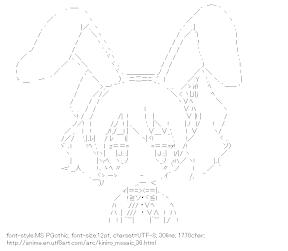 [AA]Cartalet Alice Rabbit ears (Kiniro Mosaic)