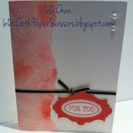 Reason to Smile card by Ida Chan