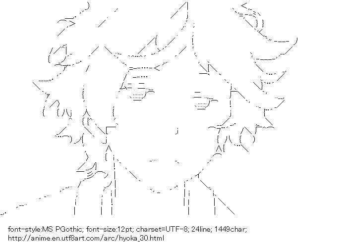 Hyoka,Oreki Houtarou