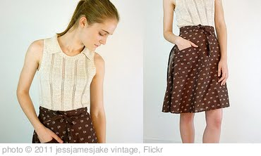 'Vintage Buttercream Eyelet Sweater & Boho Wrap Skirt' photo (c) 2011, jessjamesjake vintage - license: http://creativecommons.org/licenses/by-sa/2.0/