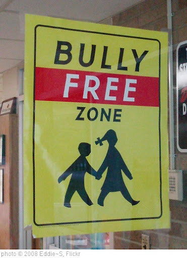 'Bully Free Zone' photo (c) 2008, Eddie~S - license: http://creativecommons.org/licenses/by/2.0/
