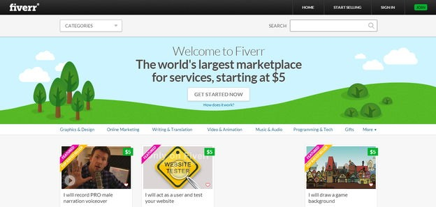 fiverr-website