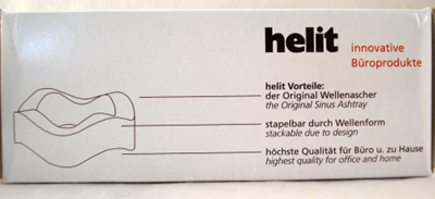 Helit Sinus ashtray box