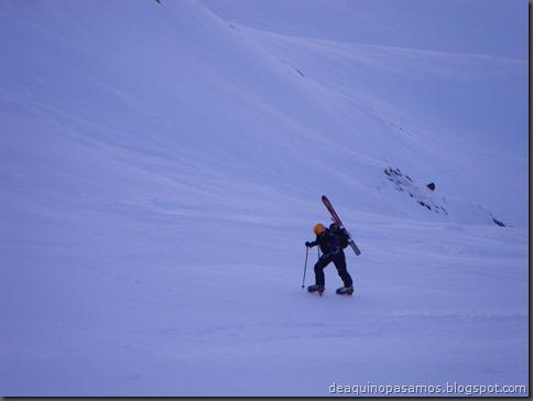 Pico de Canal Roya 2345m con esquis (Portalet, Pirineos) (Isra) 7313