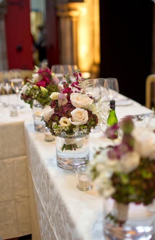 bouquet as centerpiece Duke Photography - Planet Flowers - Mansfield Traquair (11)