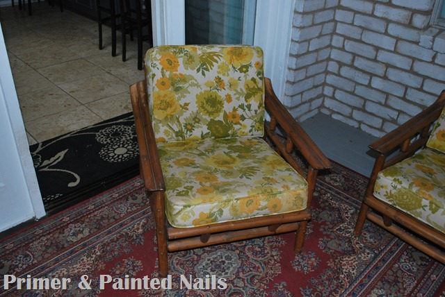 Small Bamboo Chair Before