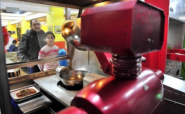 chinese robot restaurant