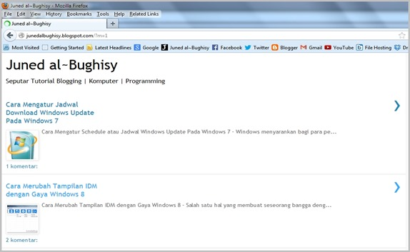 Cara Membuka Situs Web Versi Mobile Di PC 04