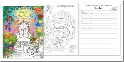 My Very Own Fairy Tale Coloring Book