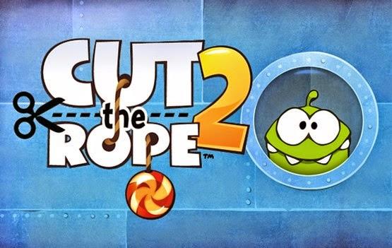 لعبة قطع الحبل 2 للأندرويد Cut the Rope 2
