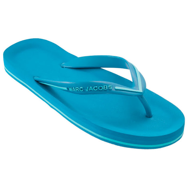 Marc by Marc Jacobs Turquoise Flip Flop