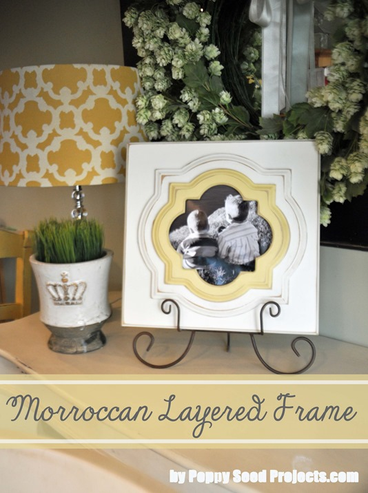 LDS Craft Ideas - Moroccan Frame