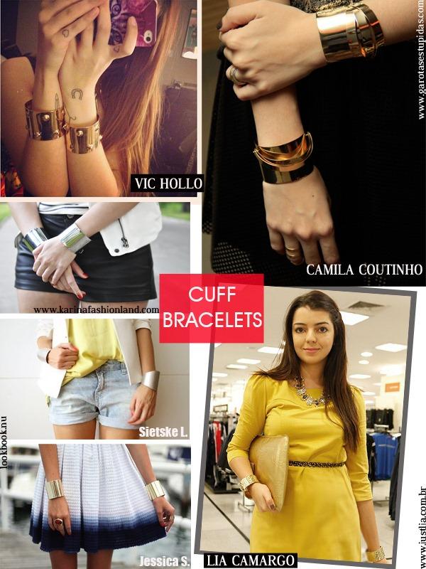 Cuff-Bracelets-Dourado-Prateado-Acessrios