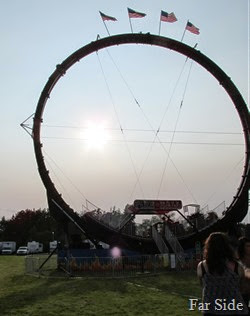 Some ride that would make me puke