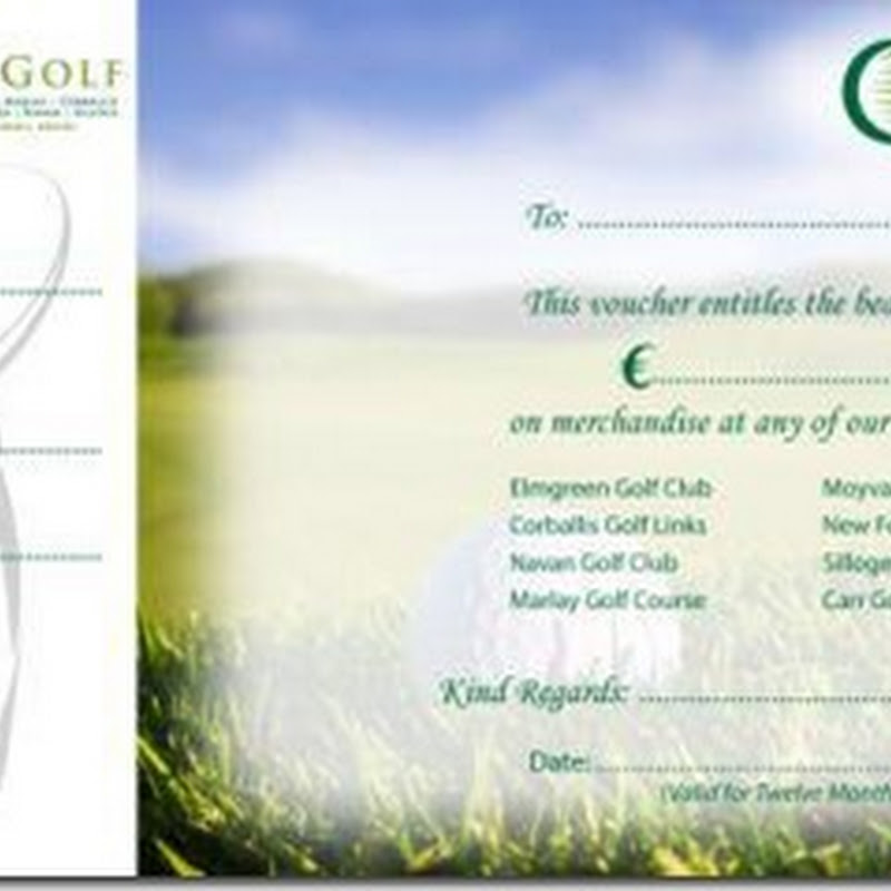 Carr Golf Christmas Present Idea - Ireland